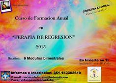 PORTAL TERAPIAS CORDOBA: curso de formacion anual en terapia de regresion,c...
