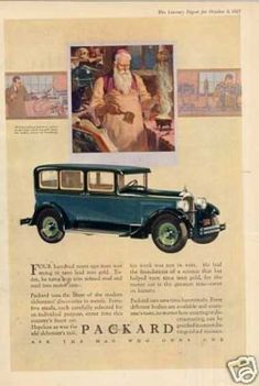 Packard Car Color (1928)