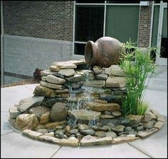 Top Diy Water Fountain Ideas And Projects beautiful small water feature One of the left over pots would work perfectly for this
