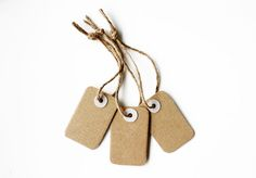 gift-tags from cardboard