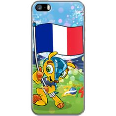 World Cup 2014 Brasil: Fuleco feat France By Akyanyme for  Apple  iPhone 5/5s
