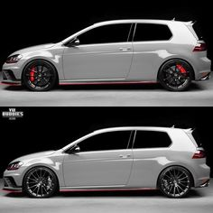 Which one do you prefer? Owner is Mk1, Gti Mk7, Volkswagen Golf R, Shops, Ford Mustang Gt, Luxury Cars, Super Cars, Automobile, Instagram