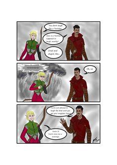 Dragon Age - Laugh by Casirra.deviantart.com on @DeviantArt