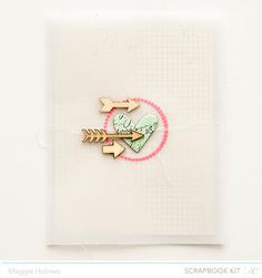 Hearts & Arrows Card by maggie holmes at Studio Calico January Kits