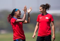 Gallery: WNT Trains Ahead Quarterfinal Match Against Sweden - U.S. Soccer