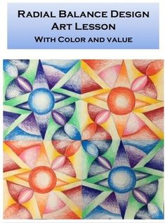 Drawing videos for kids to master art with easy and detailed Cool Art Projects, Drawing Projects, Colored Pencil Lessons, Repetition Art, Color Art Lessons, Rhythm Art, Middle School Art Projects, Arts And Crafts For Teens, Balance Design
