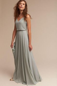 Everyday Dress. Silver, Gold, Blue, variety of belts to match. Slit either side to knees