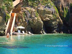Fylakes (filakes) beach in Agia Pelagia CRETE