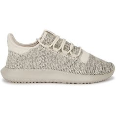 Adidas Originals Tubular Shadow Primeknit Trainers - Size 3.5 ($100) ❤ liked on Polyvore featuring shoes, sneakers, suede shoes, laced sneakers, laced shoes, lace up shoes and round toe shoes