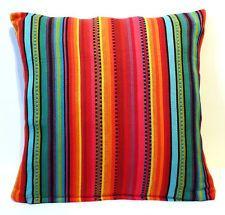 Items for sale by ethnic_design Cloud Cushion, Striped Cushions, Ethnic Design, Sofa Cushion Covers, Playroom, Rainbow, Throw Pillows, Cotton, Handmade