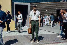 The Best Street Style from Pitti Uomo in Florence