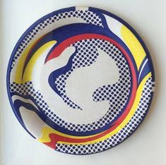 To know more about Roy Lichtenstein Paper Plate, visit Sumally, a social network that gathers together all the wanted things in the world! Featuring over 85 other Roy Lichtenstein items too! Roy Lichtenstein Paintings, Pop Art, Painting Process, Typography Logo, Art Design, Art Auction, Limited Edition Prints, Paper Plates, Decoration