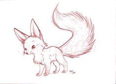 Fennec Fox by silvergriffin.deviantart.com on @deviantART