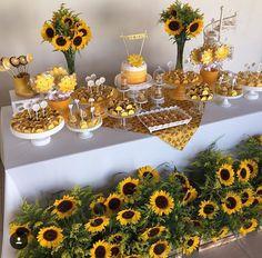 Sunflower Garden cake