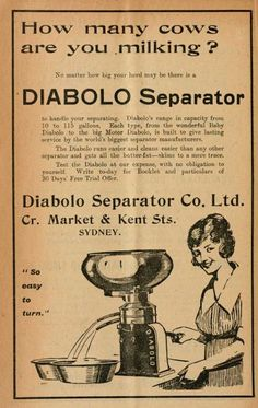 Nvented In Germany In 1870 S The Cream Separator Would
