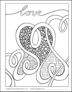 Check out this week's Zenspirations - BLOG for FREE Downloadable Coloring Pages & Valentine's Day cards.