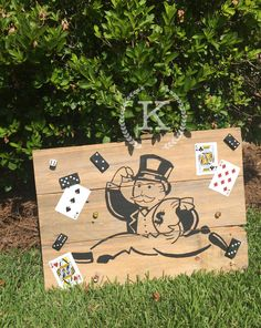 """Family Game Night  15x 22.5""""  $35  on reclaimed wood"""