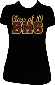 class of 89 glitter vinyl tshirt by mpshinedesigns on etsy 2300