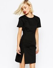 Love Moschino Dress With Split