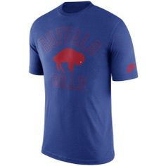 Men's Buffalo Bills Nike Royal Retro Logo II T-Shirt