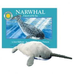 Narwhal book with a stuffed animal!..need need!