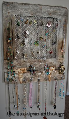 Diy Jewelry Organizer For 25 House Full Of Pretty Organization
