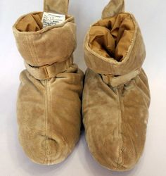 Brookstone Duck Down Foot Comforters Womens M Warm Cozy #Brookstone #SlipperShoes