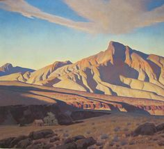 Phoenix Art Museum,Home of the Desert Rat by Maynard Dixon, 1944, via Flickr