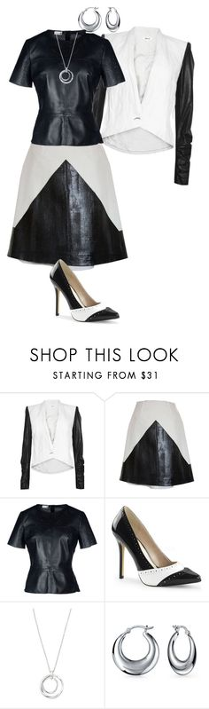 """""""Untitled #1015"""" by pholtond on Polyvore featuring Helmut Lang, Hellen Van Rees, 8, FOSSIL and Bling Jewelry"""