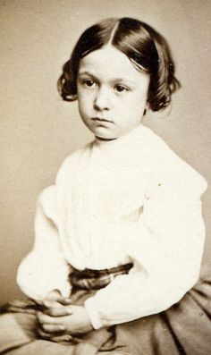 +~+~ Antique Photograph ~+~+  Oh, the melancholy on this sweet little face.