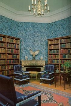 Biltmore. Look at all those gorgeous books. Perfect reading getaway