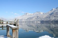 Annecy, French Alps in winter
