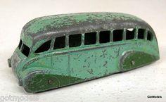 中古 ディンキー トイズ DINKY TOYS - 29B STREAMLE COACH バス NO REAR WDOW ヴィンテージ ダイキャスト トイ モデル ミニカー