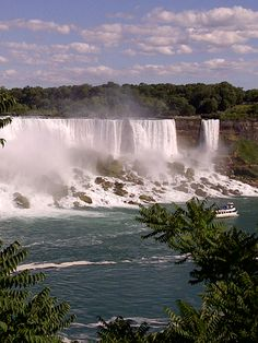 Niagara - View of the New York side.
