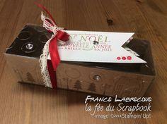 """Boîte Coffret cadeau / Gift Box : jeu d'étampes """"Éblouissants de joie / Bright & Beautiful"""" ... www.lafeeduscrapbook.com"""