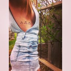 Glyph tattoo, explore, challenge, transcend