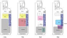 Distribución de espacios #espacios_pequeños #small_places #tiny