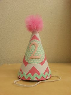 2nd Birthday Party Hat 1200 Via Etsy Hats Board