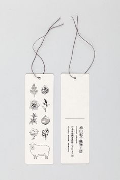 Hang tags // homesickdesign