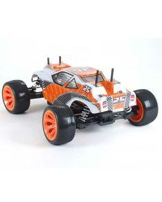 Pilotage радиоуправляемая Truggy One 1:10 4WD электро Rtr желтая