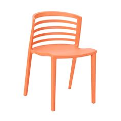 A simple, clean style makes this multi-purpose chair a true standout. Made from heavy-duty molded plastic in the midcentury spirit, this is a chair that was made to last. And in a bright, bold orange—i...  Find the Modern Curvy Dining Chair, as seen in the The Modern Outdoorsman Collection at http://dotandbo.com/collections/the-modern-outdoorsman?utm_source=pinterest&utm_medium=organic&db_sku=EEI0252-org