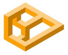 Galería de imagenes de www.educacionplastica.net :: Figuras Imposibles en Perspectiva Isométrica :: imposible20