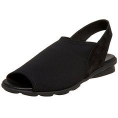 Arche Women's Dajac Sandal,Noir,39 EU (US Women's 8 M) -- Want additional info? Click on the image.