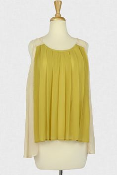 Draped With Charm Pleated Top :: $26.99