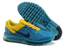 reputable site ead35 fd016 Nike Air Max 2013 Mens Shoes in Sky Blue Yellow with Black Logo, cheap Nike  Air Max 2013 , If you want to look Nike Air Max 2013 Mens Shoes in Sky ...