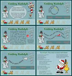 SMARTBoard Christmas Activities