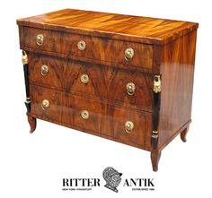 Biedermeier chest of drawers.