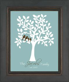 FAMILY TREE personalized gift Personalized by KreationsbyMarilyn, $15.00