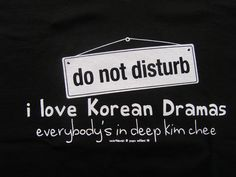 I love Korean Dramas ladies vneck tshirt by idkwhat2wear on Etsy, via Etsy.