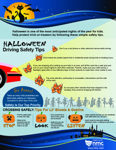Halloween Safety Tips Infographic - NMC News